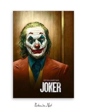 Joker 2019 İllüstrasyon afişi
