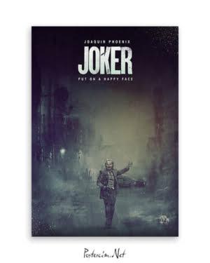 Joker 2019 Poster - Dark afişi