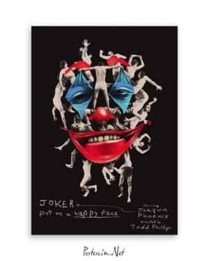 Joker 2019 Poster - Kolaj afişi