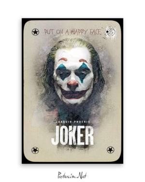 Joker 2019 Poster - Kart afişi