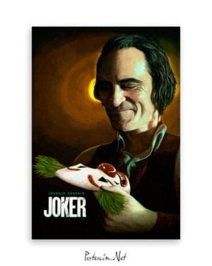 Joker 2019 Poster - Joaquin Phoenix afişi