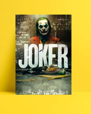 Joker 2019 Movie Posteri