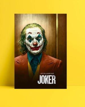 Joker 2019 İllüstrasyon posteri