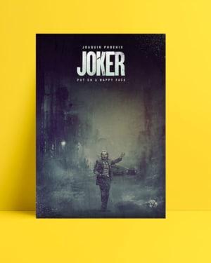 Joker 2019 Poster - Dark posteri