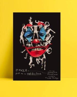 Joker 2019 Poster - Kolaj posteri