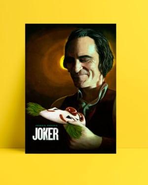 Joker 2019 Poster - Joaquin Phoenix posteri