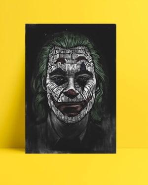 Joker 2019 Poster - Tipografi posteri