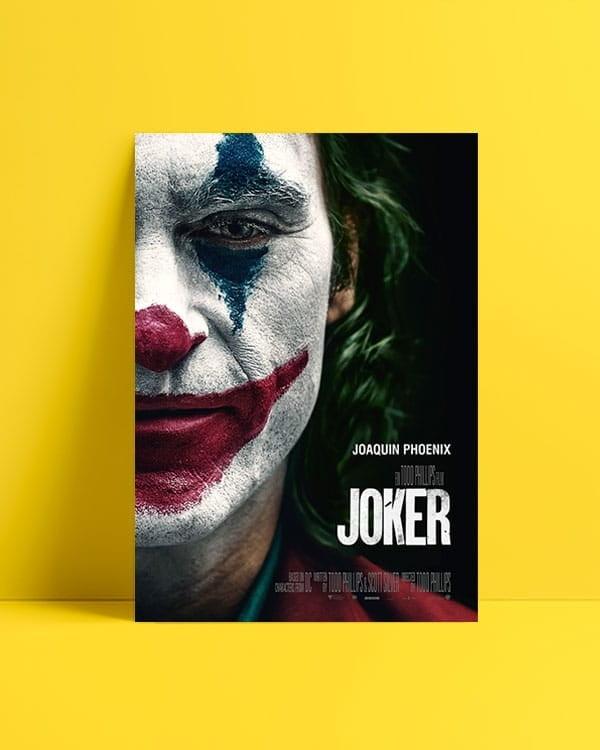Joker 2019 Happy Face posteri