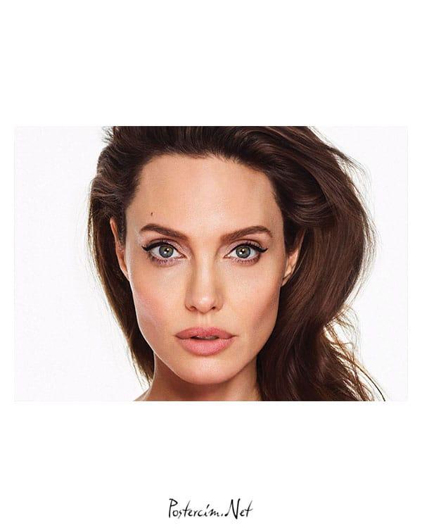 Angelina Jolie Posteri - Close Up afişi