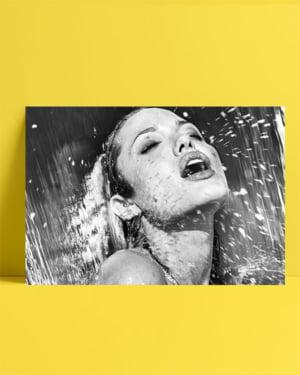 Angelina Jolie Posteri - Siyah Beyaz 2 posteri