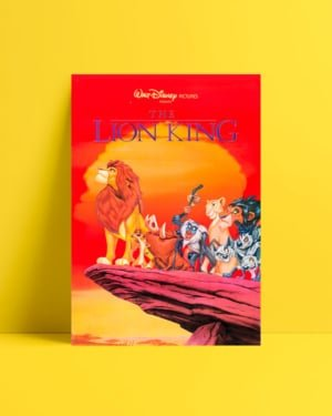 The Lion King 1994 afiş