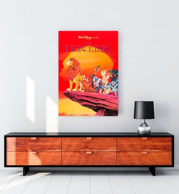The Lion King 1994 Kanvas Tablo