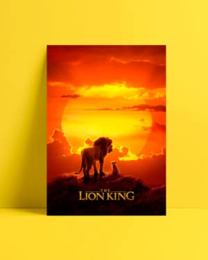 The Lion King 2019 afiş