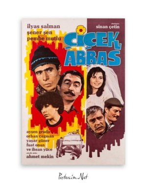 Çiçek Abbas film afişi