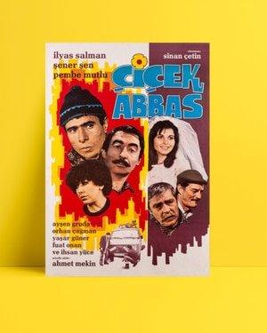 Çiçek Abbas filmi posteri