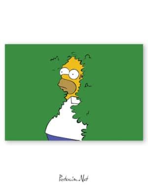 Homer Simpson afişi