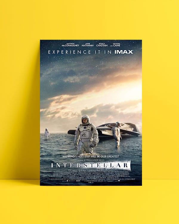 Interstellar-Yıldızlararası afiş