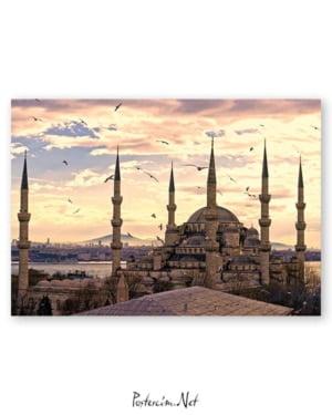 İstanbul - Sultanahmet Camii afişi