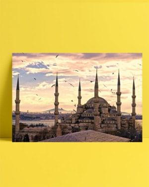 İstanbul - Sultanahmet Camii posteri