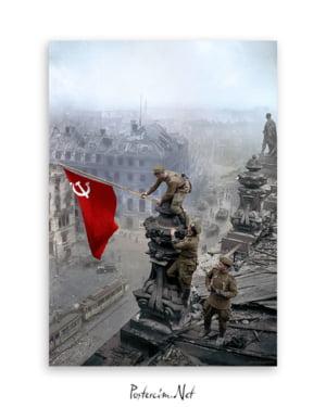 Kızıl Ordu Askerleri afişi