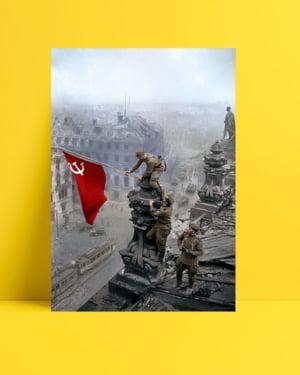 Kızıl Ordu Askerleri posteri