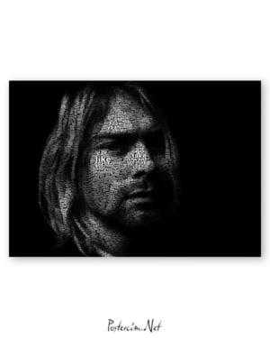 Kurt Cobain afişi