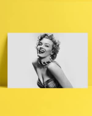 Marilyn Monroe - Siyah Beyaz posteri