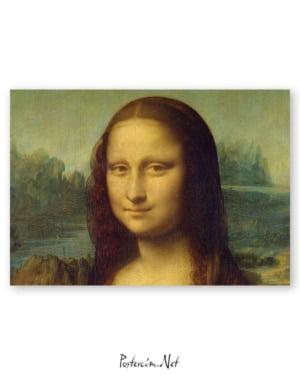 Mona Lisa - Leonardo da Vinci afişi