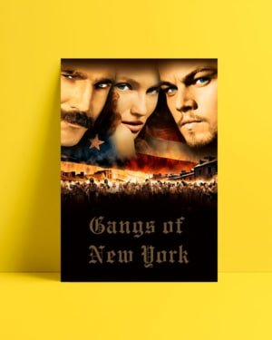 Gangs of New York afiş