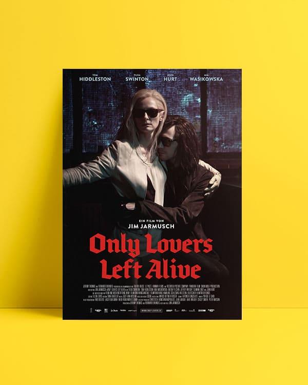 only lovers left alive afiş