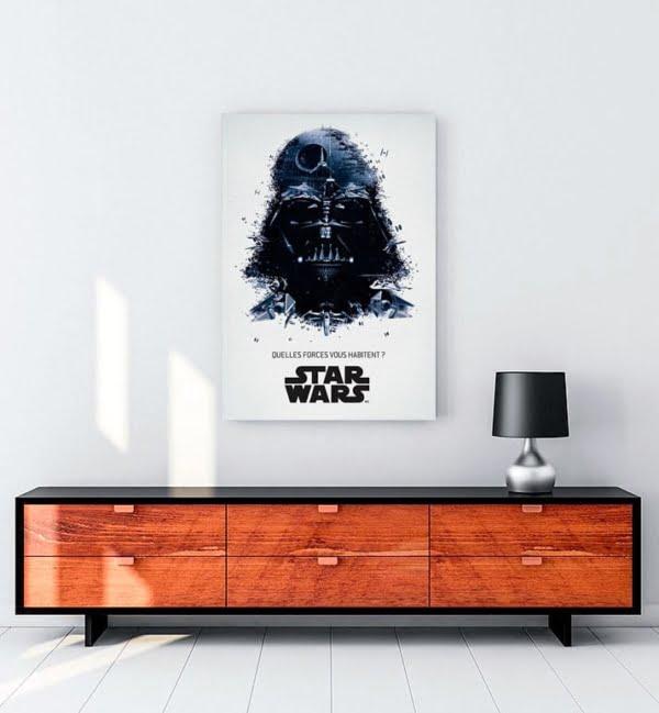 Star Wars Kara Lord kanvas tablo