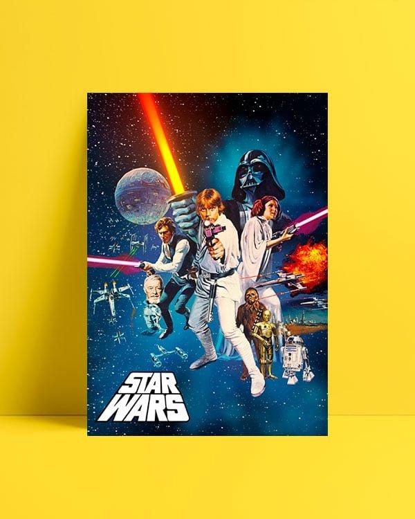 Yıldız Savaşları: Bölüm IV - Yeni Bir Umut afiş