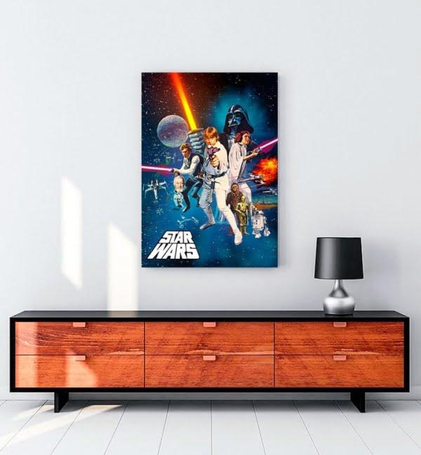 Yıldız Savaşları: Bölüm IV - Yeni Bir Umut kanvas tablo