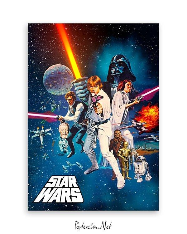 Yıldız Savaşları: Bölüm IV - Yeni Bir Umut poster