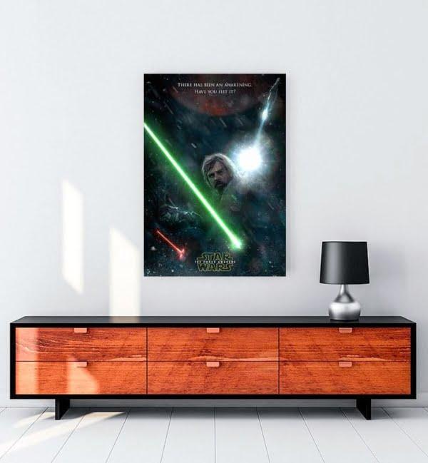 Star Wars Güç Uyanıyor kanvas tablo