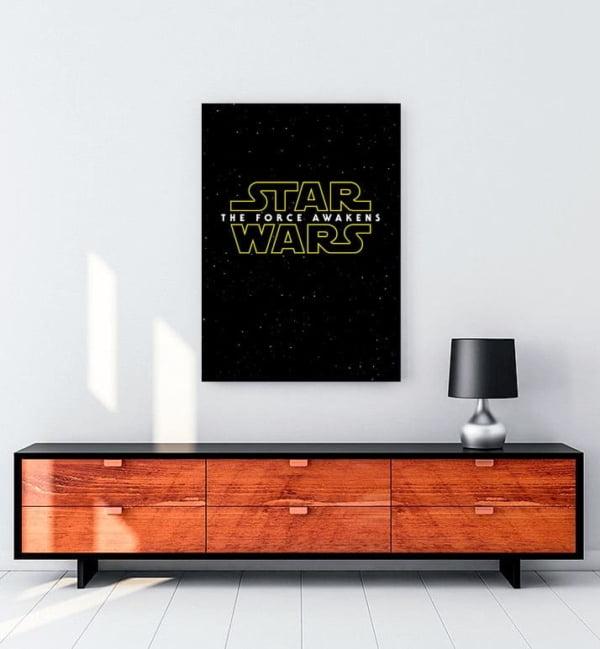 Yıldız Savaşları kanvas tablo