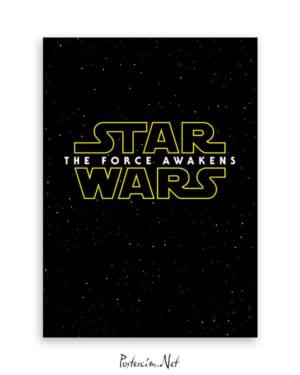 Yıldız Savaşları Poster