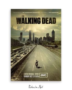 walking dead afişi
