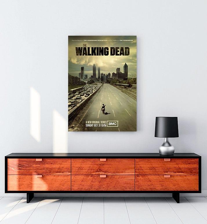walking dead kanvas tablo