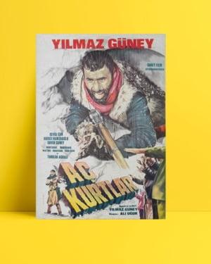 Yılmaz Güney - Aç Kurtlar filmi posteri