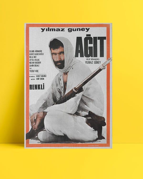 Yılmaz Güney - Ağıt posteri