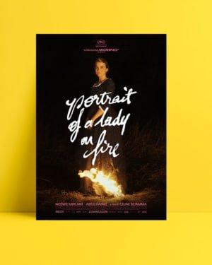Alev Almış Bir Genç Kızın Portresi posteri