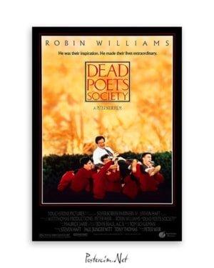 Dead Poets Society film afişi Ölü ozanlar derneği film afişi