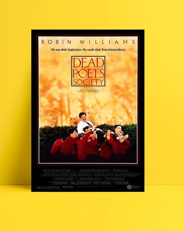 Dead Poets Society film posteri Ölü ozanlar derneği film posteri