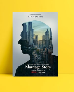 Marriage Story - Adam Driver posteri