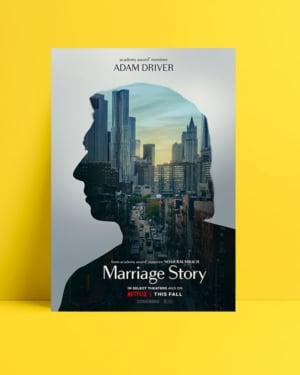 Marriage Story - Adam Driver posteri