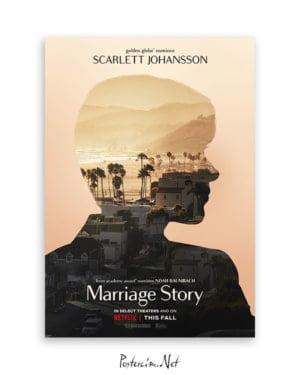 Marriage Story - Scarlett Johansson afişi