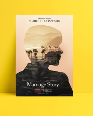 Marriage Story - Scarlett Johansson posteri