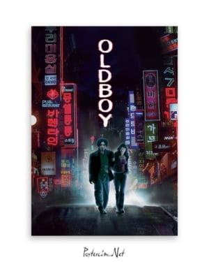 Oldboy film afişi İhtiyar Delikanlı film afişi