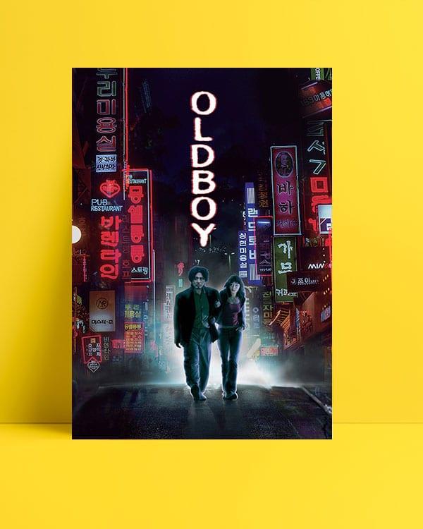 Oldboy film posteri İhtiyar Delikanlı film posteri